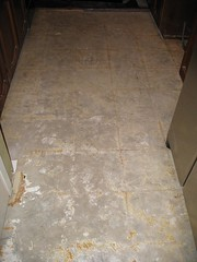 The Bare Kitchen Floor