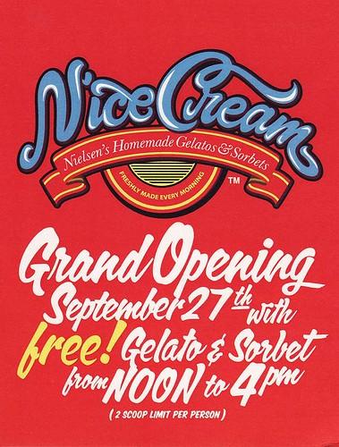 N'ice Cream Grand Opening