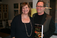 Karen Page and Andrew Dornenburg with The Flavor Bible