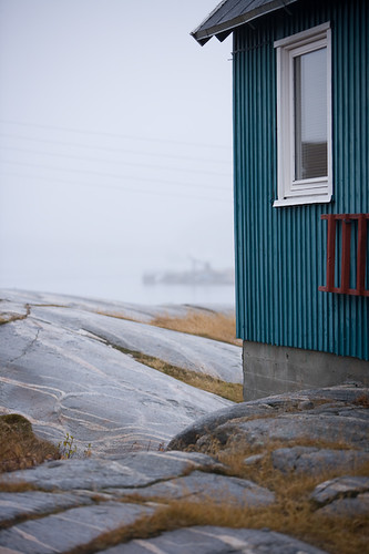 House in the small town of Qeqertarsuaq (Godhavn)