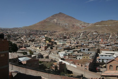 Cerro Rico, Potosi - Bolivia.