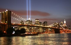9-11-08 TOWERS OF LIGHT (kevinh_photos) Tags: newyorkcity godblessamerica worldtradecenter wtc nypd papd fdny neverforget 911 sept 11 memoriallights kevinhphotos nyc usa nleomf 2011911tributecalendar nationallawenforcementmemorial