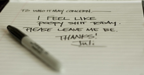 Sick Note.