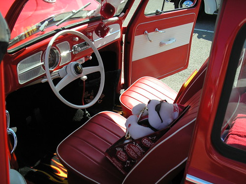 old vw beetle interior. To me the interior is