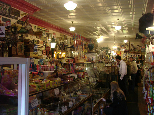 Inside Candy Emporium