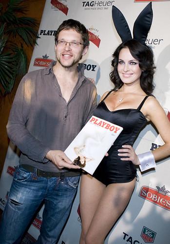 playboy party, my and playmate Darija Atafjeva