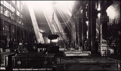 Fabbrica - shines in the hell (manlio_k) Tags: light bw italy white film 35mm blackwhite bravo factory shine hell rusty balck salerno manlio castagna manliocastagna manliok