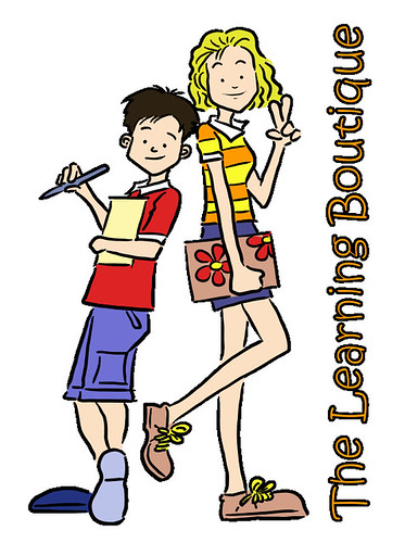 The Learning Boutique mascots final artwork