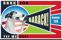 Bark for Barack poster