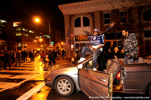 U Street Obama celebration