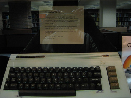 Commodore Vic20 - Computer & Video Game Exhibit