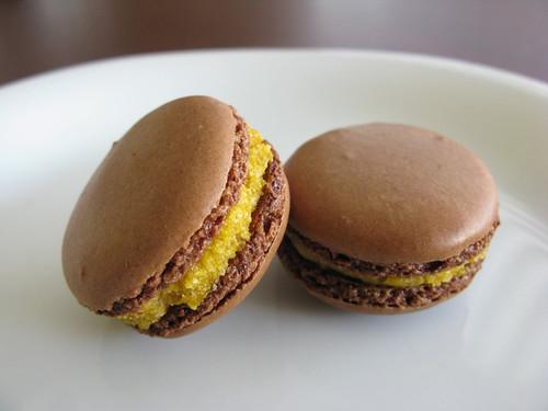 Pumpkiin Macaron