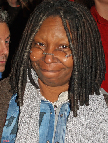 Whoopi Goldberg at the NYC Proposition 8 protest by david_shankbone.