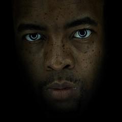 Darkness (-Teddy) Tags: me canon eyes lips 5d alienbee moonunit 24l abr800 24mml canonef24mmf14usm