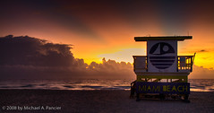 Sunrise on South Beach (Michael Pancier Photography) Tags: sunrise miamibeach southbeach hdr fineartphotography sobe naturephotography señor naturephotographer floridaphotographer michaelpancier michaelpancierphotography southmiamibeach impressedbeauty wwwmichaelpancierphotographycom señorcohiba