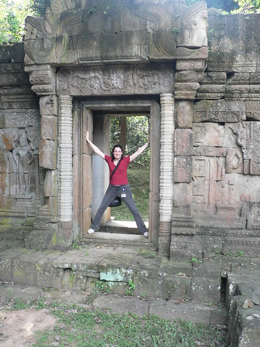 Steph in Siem Reap