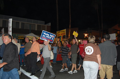 No on 8 Rally Palm Springs CA