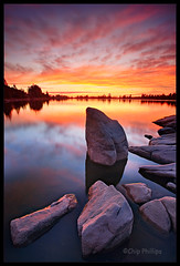 Granite Lake Sunset (Chip Phillips) Tags: sunset lake vertical landscape photography spokane searchthebest northwest phillips elite granite chip inland refections