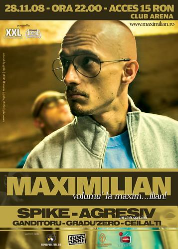 28 Noiembrie 2008 » Lansare (2008) Maximilian - Volumu' la maxim…ilian