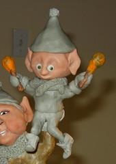 Clay elf sculpture in progress (ARTerEgo) Tags: folkart mixedmedia polymerclay holidaydecor apoxiesculpt clayelves originalsculpturechristmasdecorclayelvesapoxiesculptpolymerclaymixedmediafolkartholidaydecororiginalsculpture
