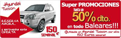 Alquilar coche Hyundai Tucson muy barato