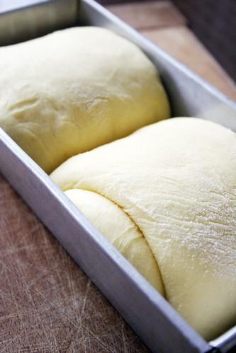 Making Brioche Loaf