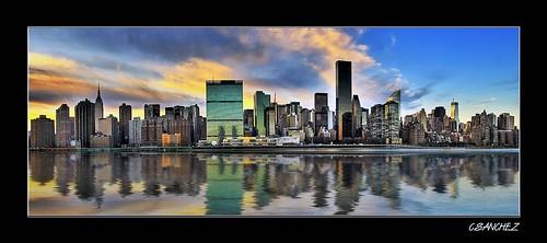 Midtown Manhattan HDR Pano..(Flickr Explore)