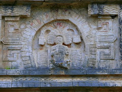 Mayan Wall Carving At Chichen Itza (Butch Osborne) Tags: city travel mexico temple ancient ruins maya culture yucatan mayan mayanruins historical cancun traveling antiquity mustsee mayanculture yuccatan mayancity bucketlist