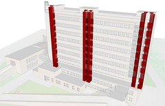 ronse city hospital (Renderhouse ludwig desmet) Tags: architecture 3d visualisation renderhouse