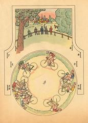 course cycliste b