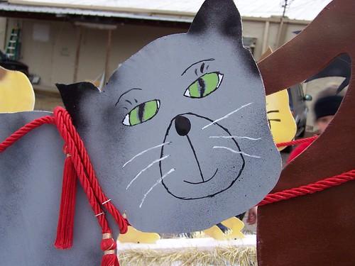 Cardboard Kitteh