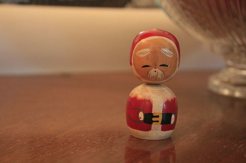 tiny little santa from japan