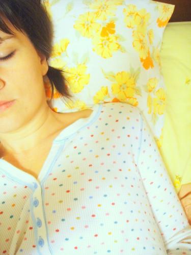 polka dotted sleep