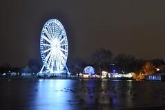 Hyde Park (raindog) Tags: christmas xmas longexposure london night nikon hydepark christmasfair winterwonderland d90