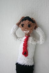 Knitted Barack Obama