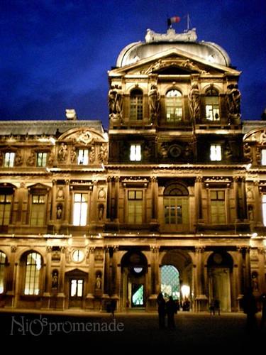 你拍攝的 Louvre 5。