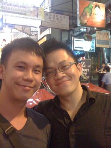 Justin & I @ Lan Kwai Fong