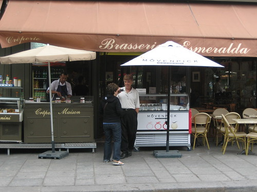 Brasserie Esmeralda - Crepes in Paris