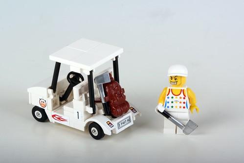 how to build a lego mini golf course
