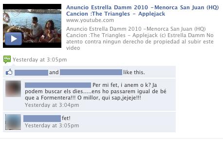 facebook damm