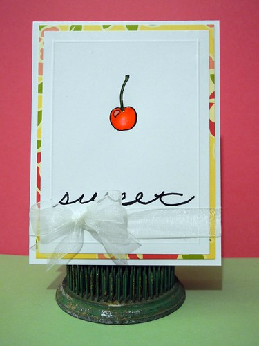 Sweet Cherry Card