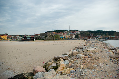 riva beach and riva village, blacksea region of istanbul, pentax k10d
