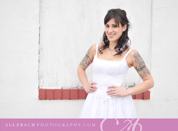 Tattooed Bride: Charmaine
