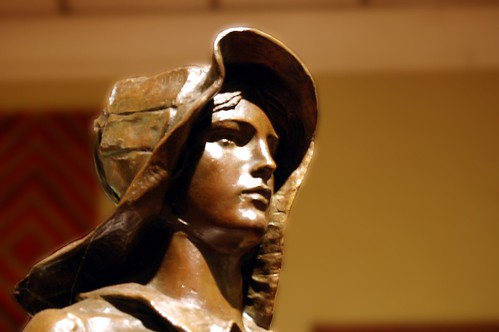 Pioneer Woman Sculpture