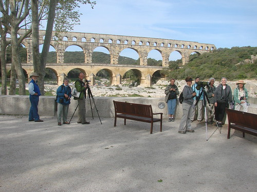 at the pont du gard 2