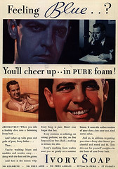 Really creepy Ivory Soap ad (MsBlueSky) Tags: weird soap scary fifties ad creepy advertisement odd 1950s tub bathtub 50s ivorysoap ivorysoapad
