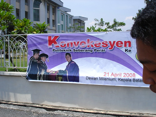 Congrats Convocation Kerol 2008 At Politeknik Seberang
