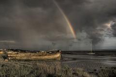 Heswall boatyard (*Richard Cooper *) Tags: rainbow silvermedal hdr wirral merseyside heswall hdraward