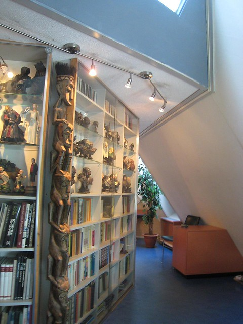 Cube house library