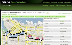 Fearless / Mobile Muse 3 / Car Free Vancouver Dry Run Route courtesy of Nokia Sports Tracker Beta
